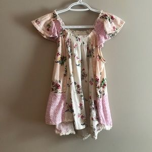 Beautiful boho girls top
